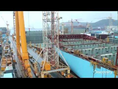Time Lapse Video Of A Ship Getting Built