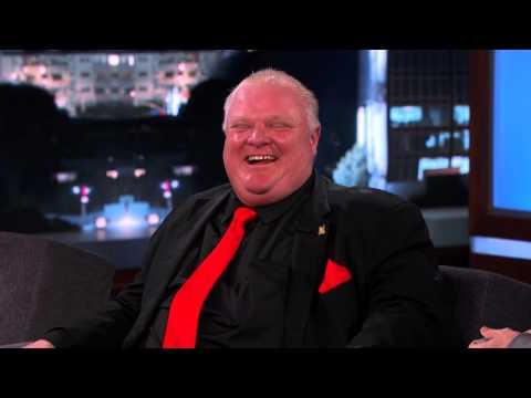 Toronto Mayor Rob Ford Gets Roasted On Jimmy Kimmel's Show - Part 1