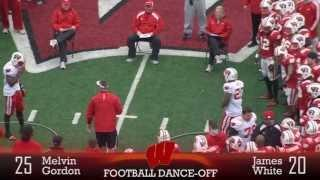 Funny Dance Off Between Wisconsin Football Players