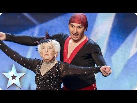 80 Years Old Paddy And Nico Surprise Britain's Got Talent Judges