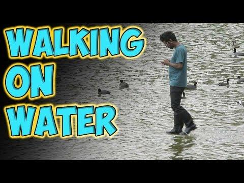 Rahat Walks On Water Prank