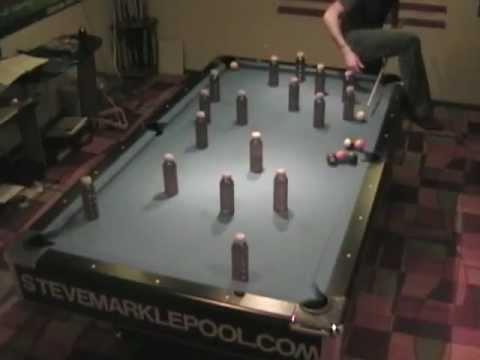 Awesome - Pool Trick Shots By Steve Markle
