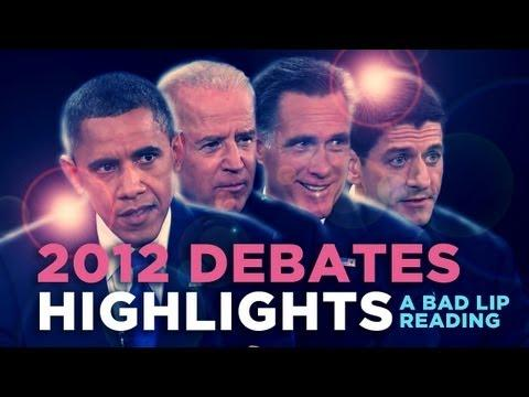 Jokes - Bad Lip Reading Of The Presidential Debate Highlights