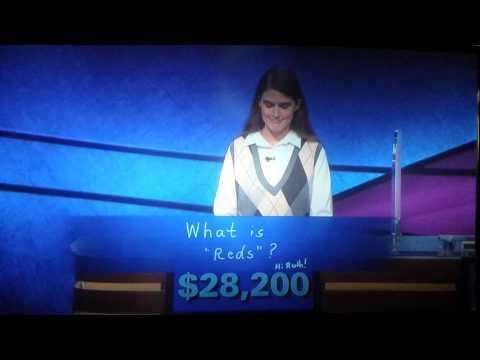Awkward Contestant On The Jeopardy
