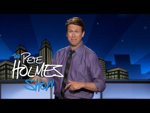 Pete Holmes On Smiling
