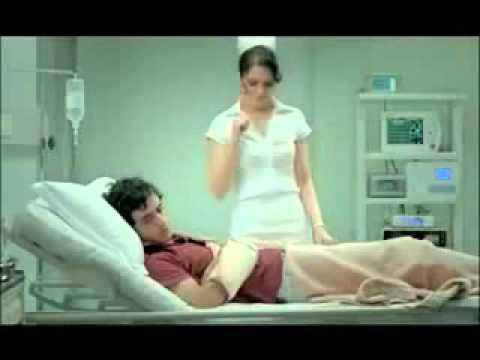 Funny Ad For Virgin Mobile - Sexy Nurse