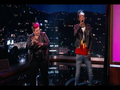 Sign Language Interpreters Rap Battle On Jimmy Kimmel Show