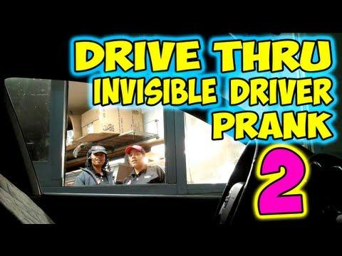 Pranks - Ghost Car At Drive-Thru Prank