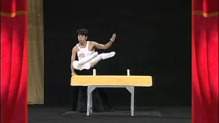 Funny Gymnastic Routine Illusion