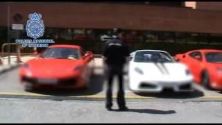 Fake Ferrari Garage In Spain Busted