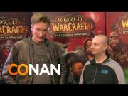 Conan O'Brien Goes To BlizzCon 2013 And Plays World Of Warcraft Game
