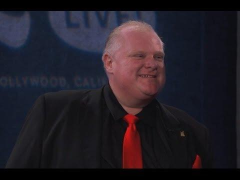 Toronto Mayor Rob Ford Gets Roasted On Jimmy Kimmel's Show - Part 3