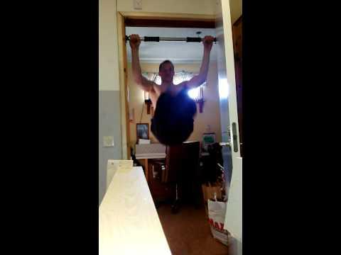 Doorway Pullup Bar Exercise Fail