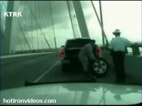 Crazy - Close Call For Cop