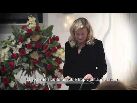 Powerful PSA About Speeding - Drivers Get Invited To Their Own Funeral
