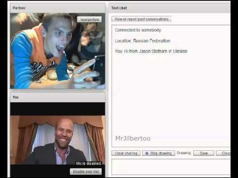 Funny Reactions To Jason Statham On Chat Roulette