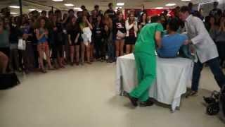 Funny Pregnant Guy Prom Proposal